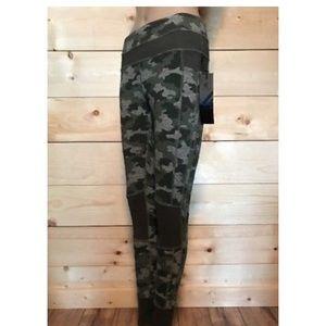 4738395536875 Kyodan Pants | High Waist Camo Print Ankle Leggings | Poshmark